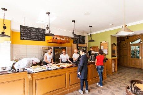 На Саксаганского открылась кофейня «Галицький штрудель». Зображення № 1.
