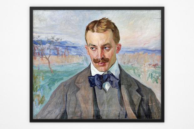 Олекса Новаковский, портрет Ивана Голубовского, 1909 год. Изображение № 7.
