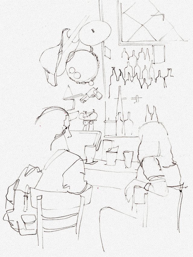 Клуб рисовальщиков: Бар «Куклы пистолеты». Изображение № 2.