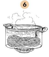 Рецепты шефов: Паста из «Бородинского» хлеба с хлопьями копченого судака. Изображение № 11.