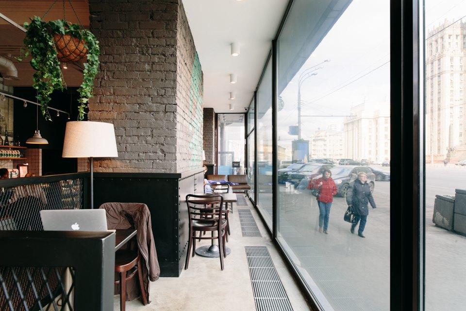 Отделение банка«Открытие», совмещённое с кофейней. Изображение № 19.