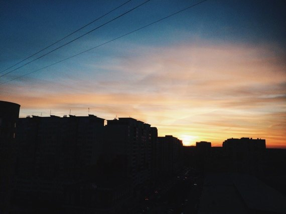 Осенний закат вМоскве. Изображение № 3.