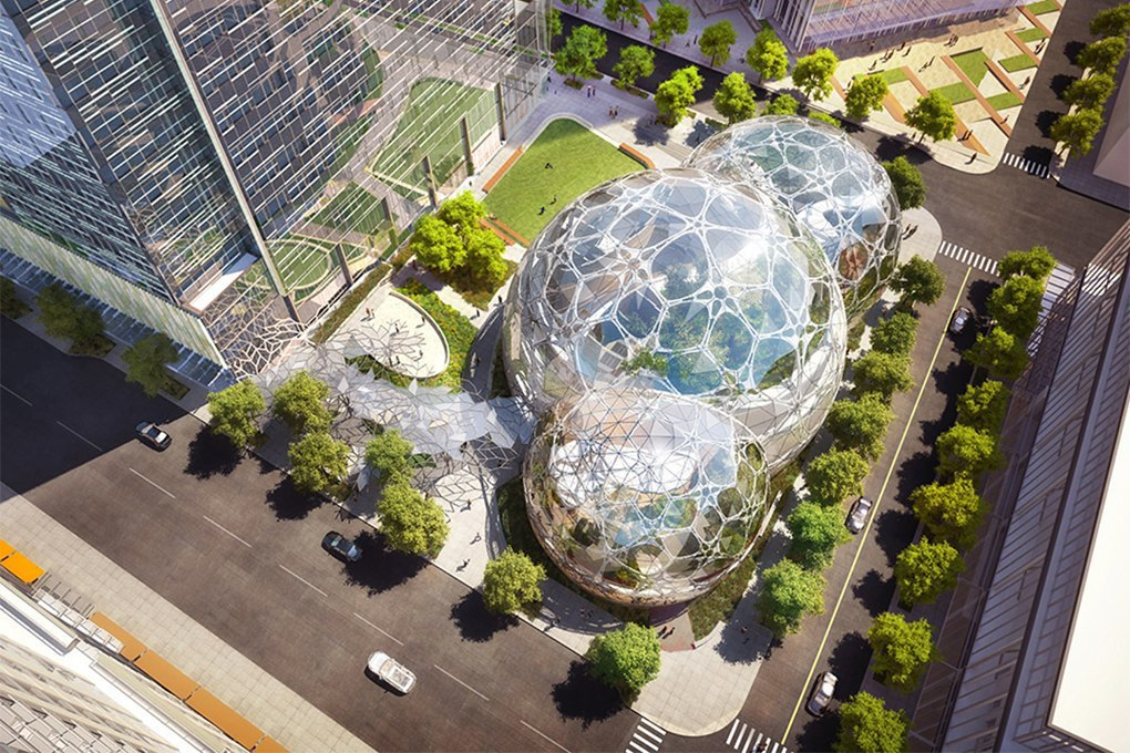 Психология, big data, кустарники: Как бюро NBBJ создаёт лучшие офисы в мире. Изображение № 9.