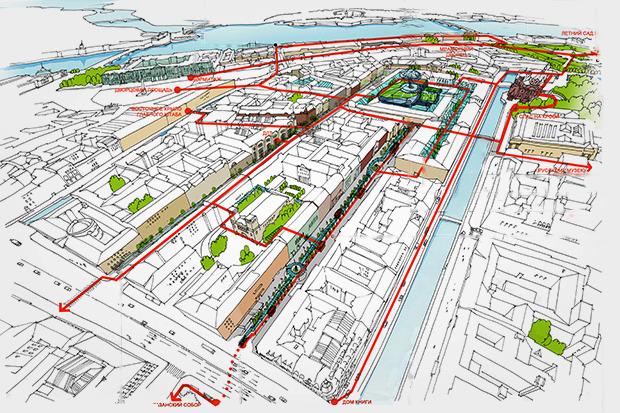 Перестройка: 5 проектов квартала вокруг Конюшенной площади. Изображение № 14.