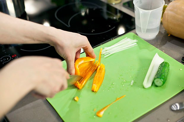 Шеф дома: Ростбиф-салат и тыквенная каша Мириам Сехон. Изображение № 50.