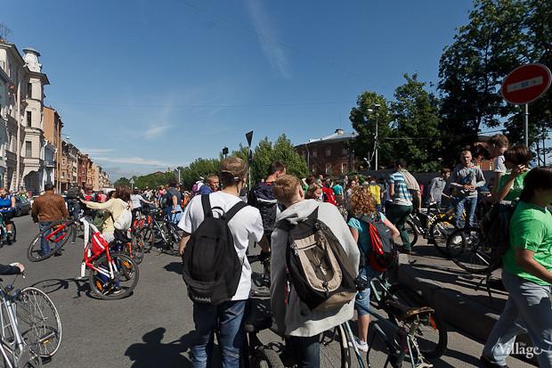 Фоторепортаж: Велопробег «За велогород». Изображение № 14.