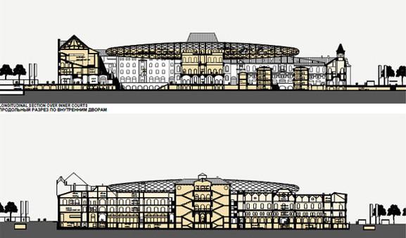Теория вероятности: 4 проекта реконструкции Политехнического музея. Изображение № 24.