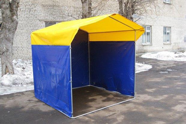 Сине-жёлтая Москва: Городские объекты вцветах флага Украины. Изображение № 13.