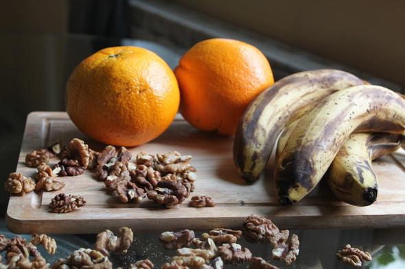 Бананово-апельсиновый кекс. Изображение № 1.