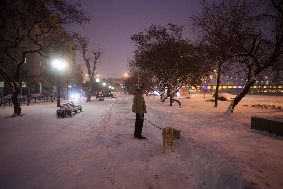Как Москва справляется снеожиданным декабрьским снегом. Изображение № 13.