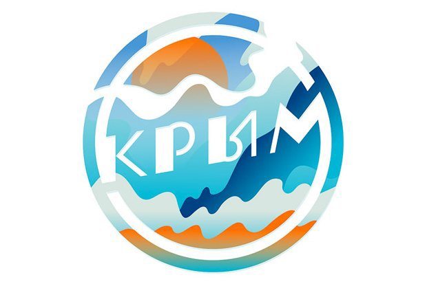 Логотип Крыма от Студии Лебедева