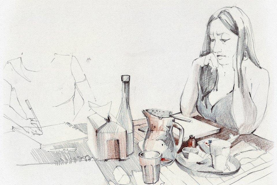 Клуб рисовальщиков: «Белая площадь». Изображение № 2.