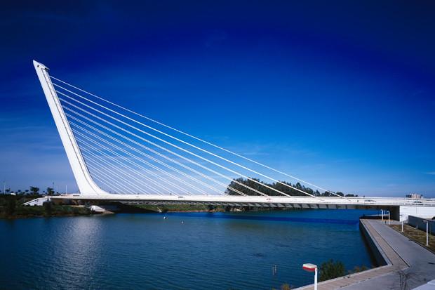 Мост Аламильо, Севилья, Испания, 1987–1992 . Изображение № 1.
