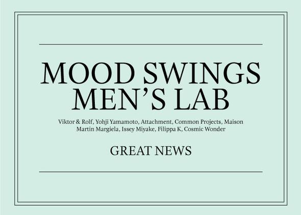 Изображение 23. Первая мужская коллекция в Mood Swings и распродажа в Fott.. Изображение № 1.