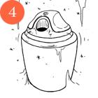 Рецепты шефов: Мороженое счаем матча, с малиной исмоцареллой и базиликом. Изображение № 19.