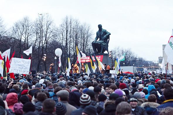 Фоторепортаж: Митинг против фальсификации выборов в Петербурге. Изображение № 19.