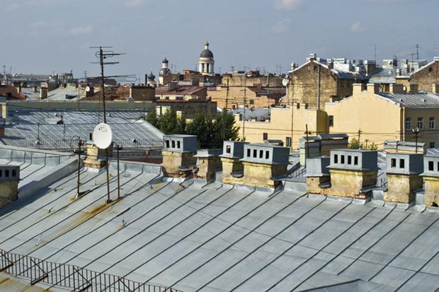 Крышу «Этажей» открыли для посещений. Изображение №1.
