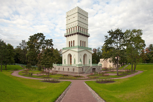 В Пушкине открыли 40-метровую смотровую башню. Изображение № 1.