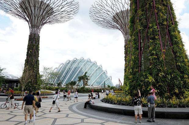 Идеи для города: Механический лес вСингапуре. Изображение № 23.