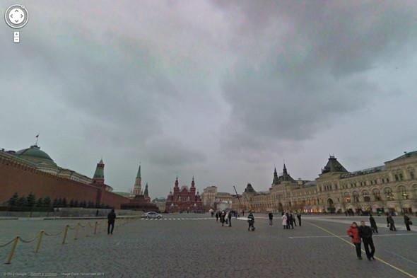Google Street View пришел в Россию. Изображение № 12.