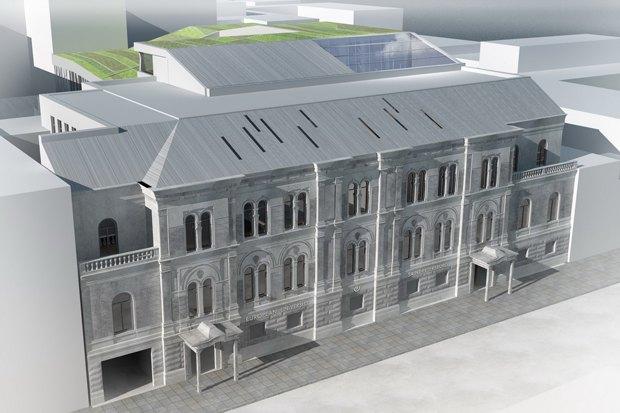 Европейский университет: 4 проекта реконструкции. Изображение № 11.