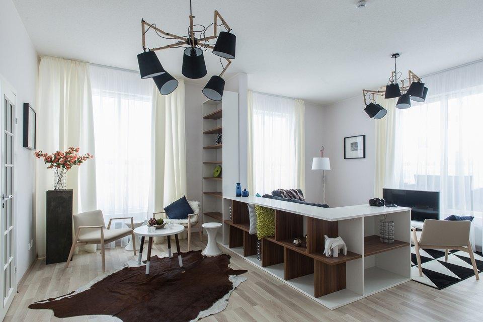 Светлые апартаменты виндустриальном районе . Изображение № 2.