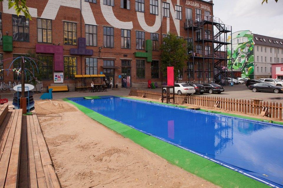 Жизнь — курорт: Пять новых открытых бассейнов вМоскве. Изображение № 20.