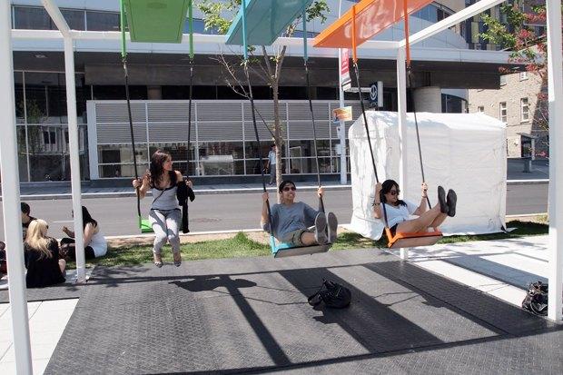 Идеи для города: Качели-оркестр в Монреале. Изображение № 7.