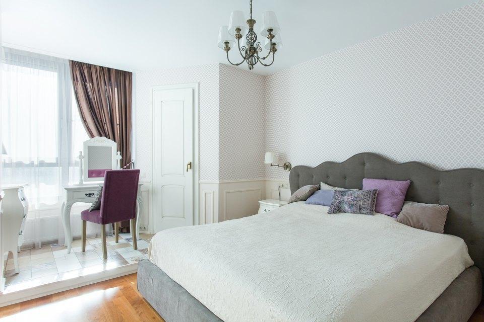 Большая квартира для семьи на«Нагатинской» с кабинетом илимонной ванной. Изображение № 3.