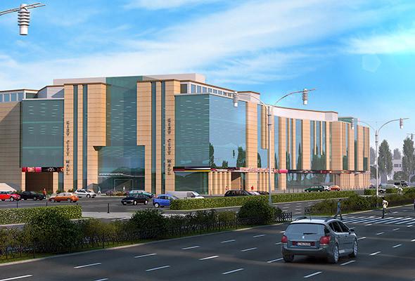 В Киеве хотят построить деловой центр «Киев-сити» и аналог Силиконовой долины — парк Bionic Hill. Изображение № 15.