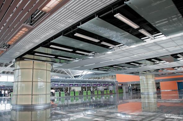 Фоторепортаж: В аэропорту Борисполь открыли самый большой на Украине терминал. Зображення № 8.
