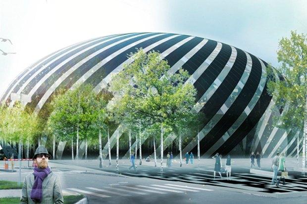Представлены шесть проектов нового здания Политехнического музея. Изображение № 20.