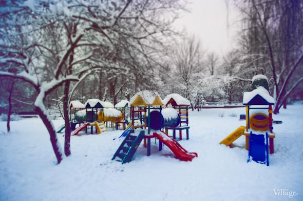 Белым по серому: Итоги снежного января в Киеве. Зображення № 8.