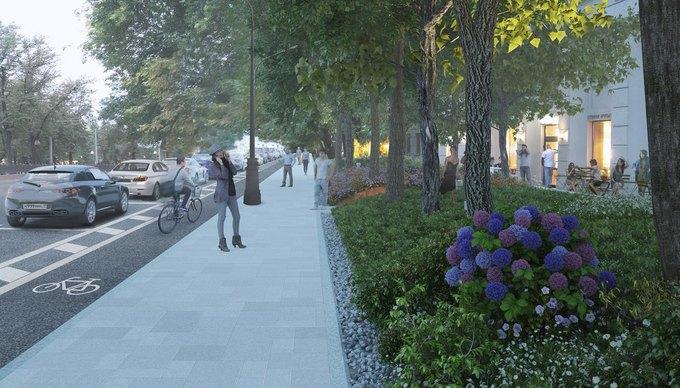 Визуализация проекта реконструкции Чистопрудного бульвара. Изображение № 3.
