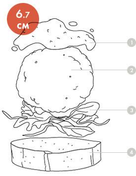 Между булок: что внутри у самых больших московских бургеров, часть 1. Изображение № 2.