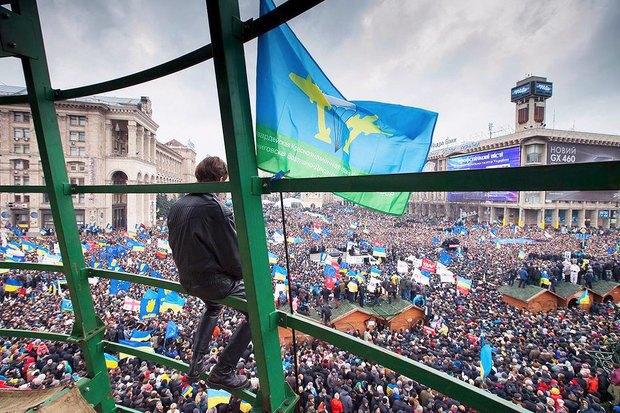 Работа со вспышкой: Фотографы — о съёмке на «Евромайдане». Изображение № 23.