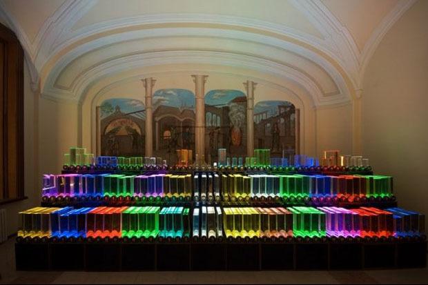 Зал стекла Музея оптики. Изображение № 1.