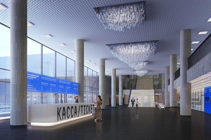 Холл и внутренний двор Третьяковской галереи наКрымском Валу. Изображение № 3.