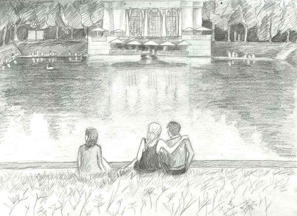 Клуб рисовальщиков: Патриаршие пруды. Изображение №6.