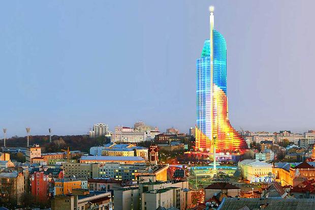 На бумаге: 8 нереализованных архитектурных проектов в Киеве. Зображення № 78.
