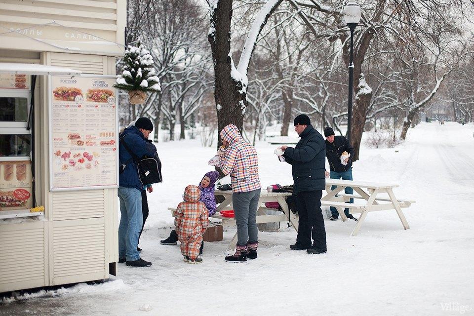 Фоторепортаж: Уличная еда взимней Москве. Изображение № 5.