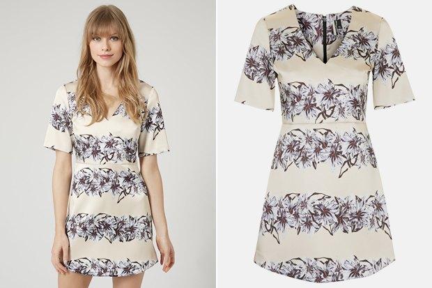Где купить платье с цветочным принтом: 6 вариантов от 3 600 до9000 рублей. Изображение № 3.