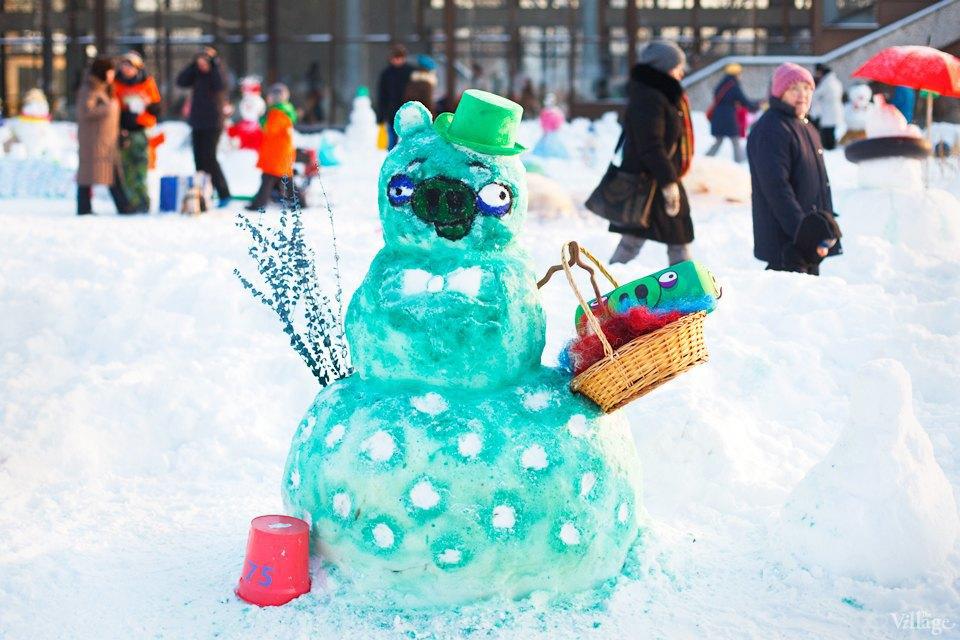 Люди в городе: «Арт-битва снеговиков». Изображение № 19.