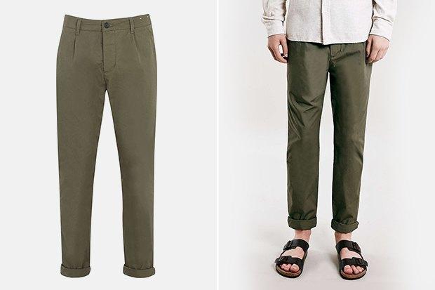 7 пар светлых мужских брюк. Изображение № 5.