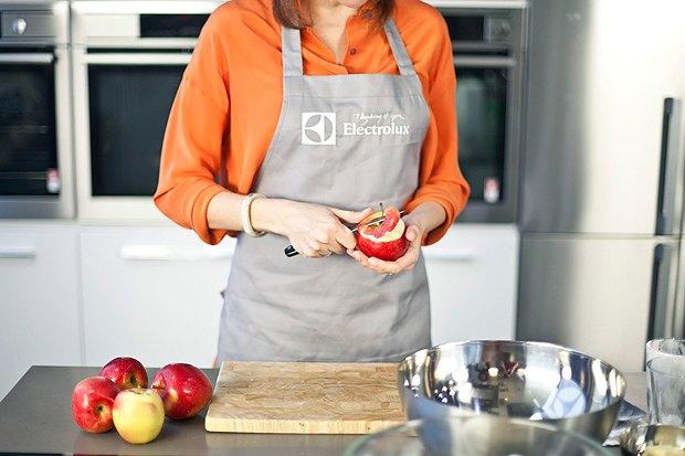 Шеф дома: Яблочный крамбл и песто из черемши Екатерины Дроздовой. Изображение № 17.