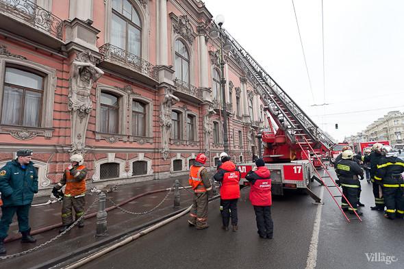 В Петербурге горел дворец Белосельских-Белозерских. Изображение № 8.