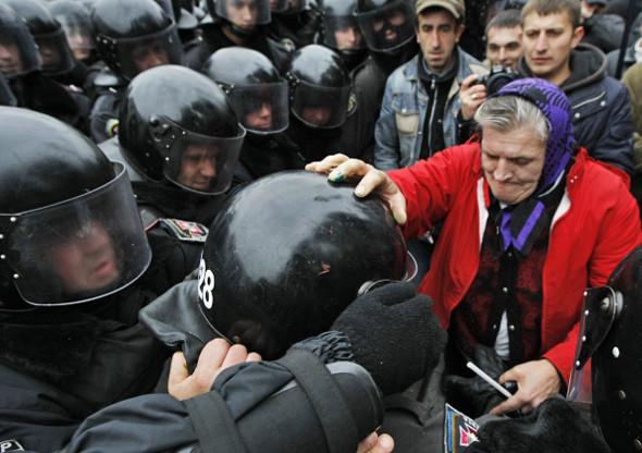 Copwatch: Действия милиции на акции «Вперёд!» возле Верховной рады. Изображение № 11.
