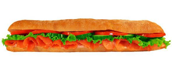 Сэндвич с семгой в «Нямс». Изображение № 6.