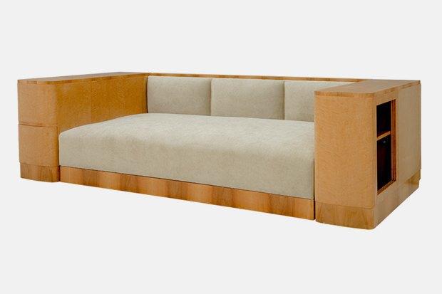 Комплект мебели; 1950-е. Сделан по частному заказу Рига, Латвия. Изображение № 3.