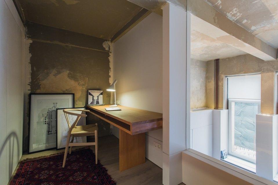 Двухэтажный лофт на «Рижской» сдагестанскими коврами. Изображение № 19.